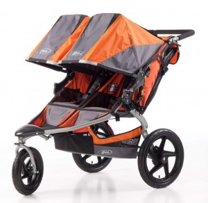 BOB Revolution SE Duallie Stroller - orange