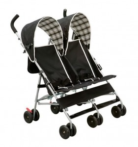 Delta City Street Side by Side Stroller