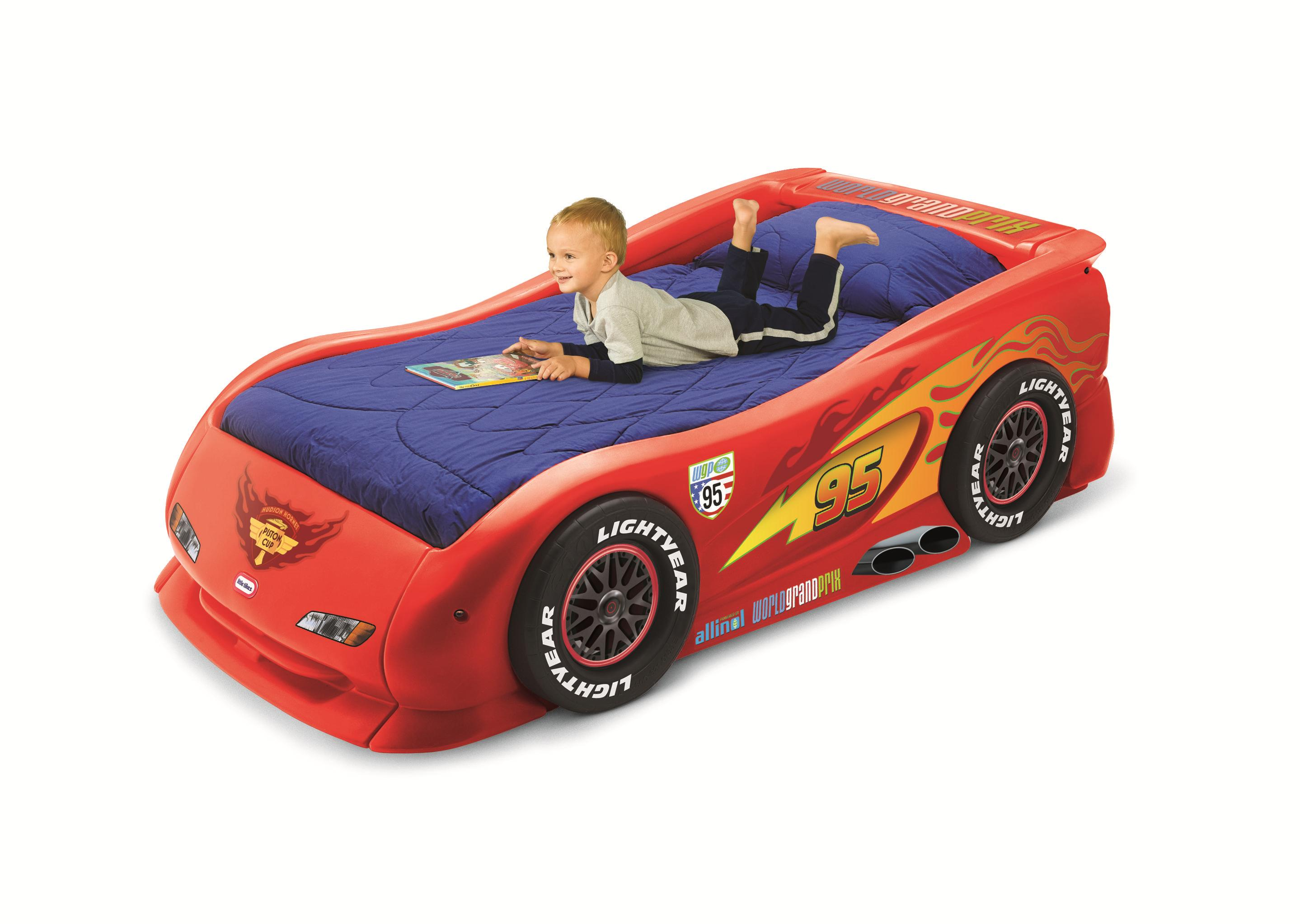 Little Tikes Blue Car Bed: Race Car Bed For Toddlers