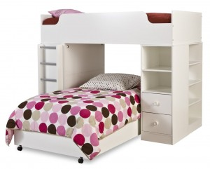 South Shore Furniture, Logik Collection, Complete Loft Bed