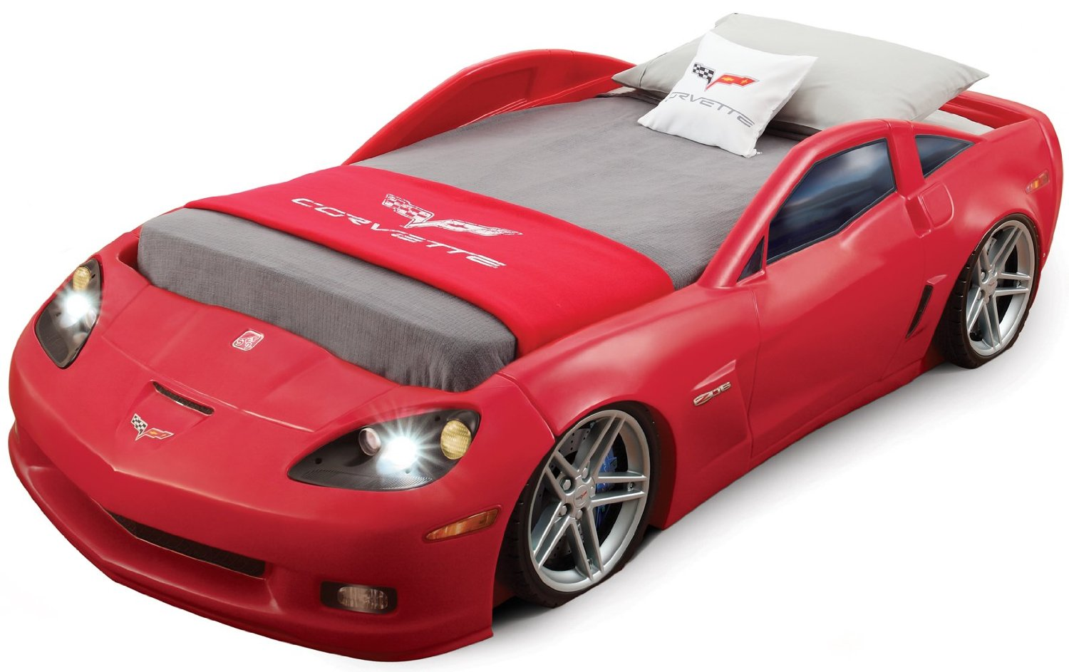 Car beds for boys twin - Step2 Corvette Bed