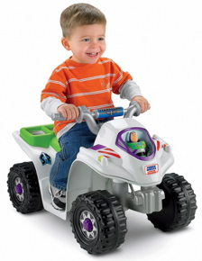 Fisher-Price Power Wheels Disney Pixar Toy Story Lil' Quad Vehicle