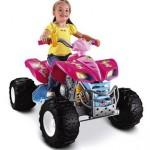 Fisher-Price Power Wheels Girls' Barbie KFX ATV