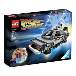 LEGO Back to the Future The DeLorean Time-Machine Building Set